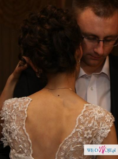 suknia biała princcesa roz.36