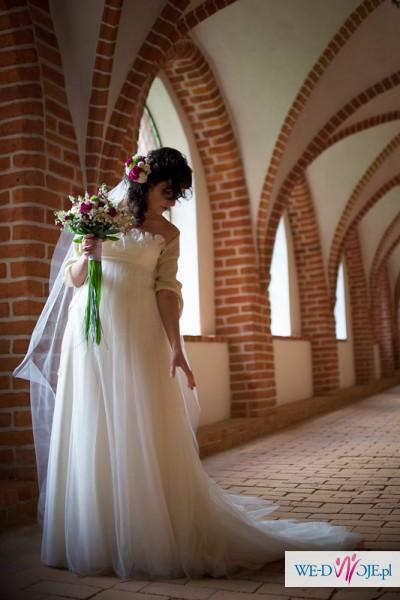 suknia Pronuptia unikat jedwab 100% waga ok 2kg
