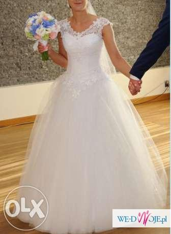 Suknia ślubna 2015 Emi mariage Gabi 36-38, 175 cm +8 cm obcas