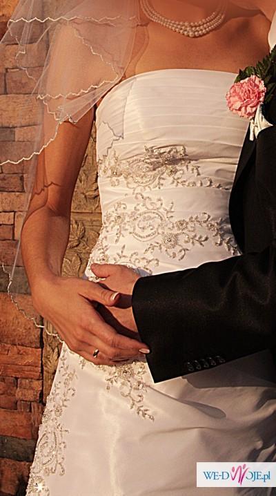 suknia ślubna 36/38 na 180