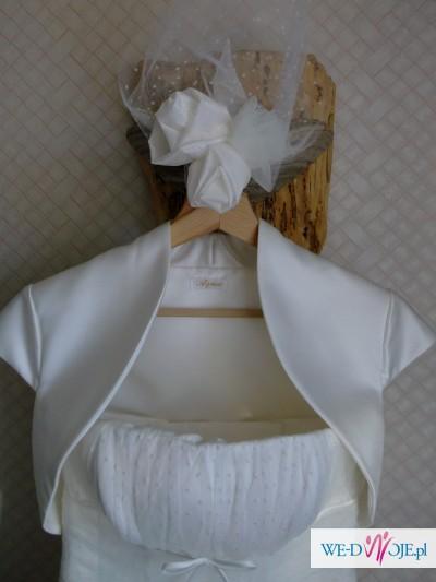 Suknia ślubna AGNES Model 10237 rozm.34/36