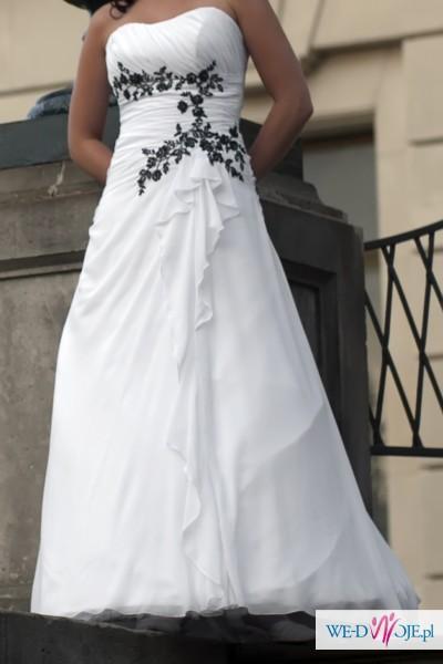 Suknia ślubna Biała Roz 36 Suknie ślubne Zdjęcie 1 Ogłoszenie
