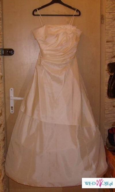 Suknia ślubna +diadem