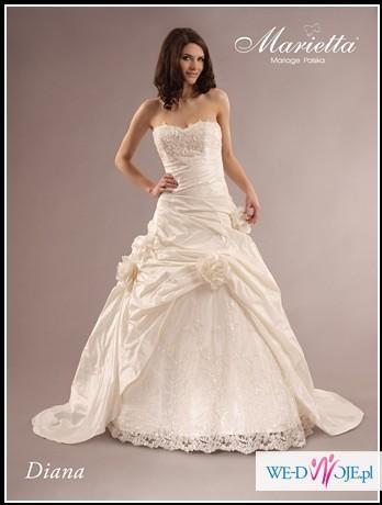 Suknia ślubna Diana :)PIĘKNA:)