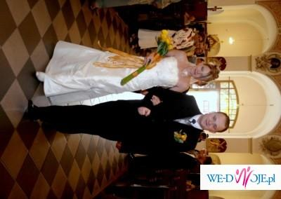 suknia ślubna ecru rozmiar 38