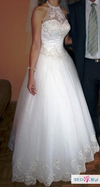 """Suknia Ślubna Emmi Mariage """"Marabu""""  rozm.38"""