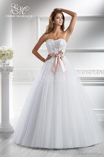 2660c396f0 Suknia Ślubna Emmi Mariage Priscilla 36 38 - Suknie ślubne - Zdjęcie ...
