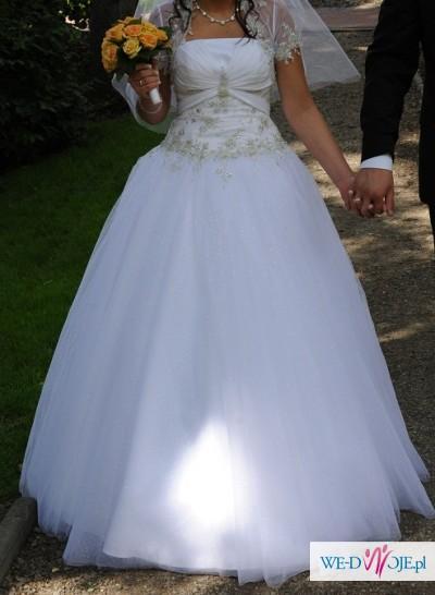 Suknia ślubna Fasson Corri roz. 38-40 fason: Princessa, księżniczka