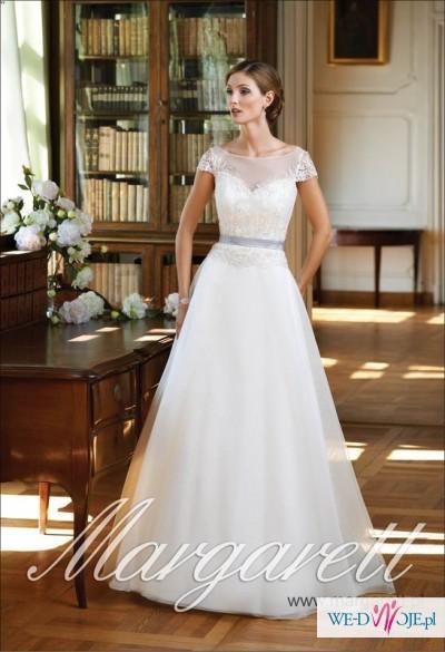 Suknia ślubna Fila (Margarett) biała / cena do negocjacji