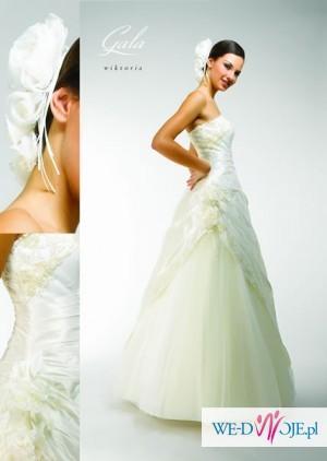 Suknia ślubna Firmy Gala Model Wiktoria Rozmiar 3436 Suknie