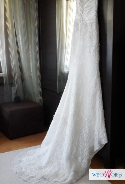 Suknia ślubna Firmy Gala R 38 Piękna Koronkowa Suknie ślubne
