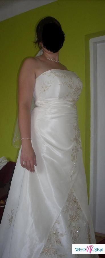Suknia ślubna Firmy Gala Rozmiar 42 44 Suknie ślubne Zdjęcie 1