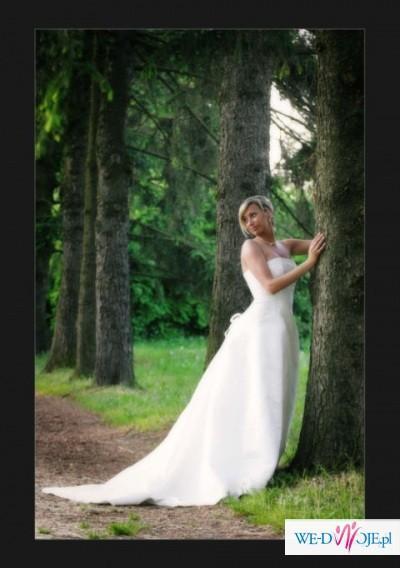 Suknia ślubna Herm's rozm.36-38 ecru