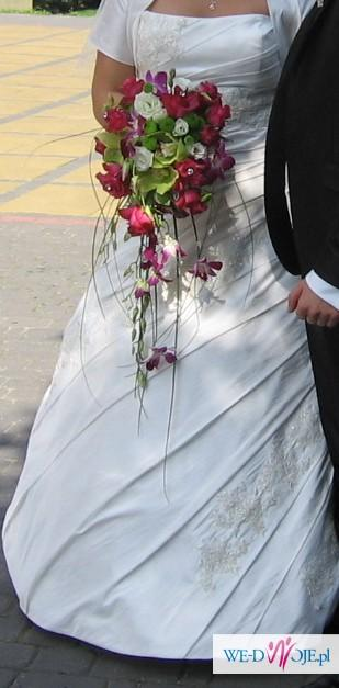 Suknia ślubna ivory roz. ok 42-46