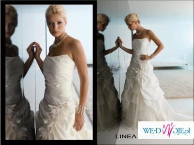 3ccd29e454 Suknia ślubna LINEA RAFFAELLI - Suknie ślubne - Zdjęcie 1 ...