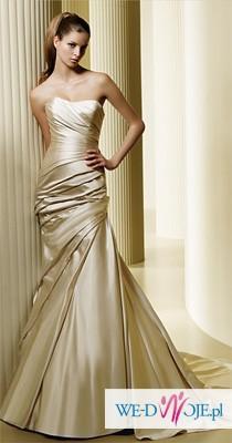 suknia slubna Madonna La sposa Fanal jasny ecru
