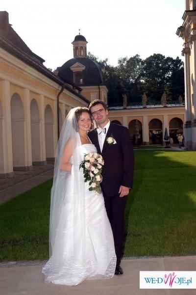 Suknia ślubna Marietta od szczęśliwej Panny Młodej