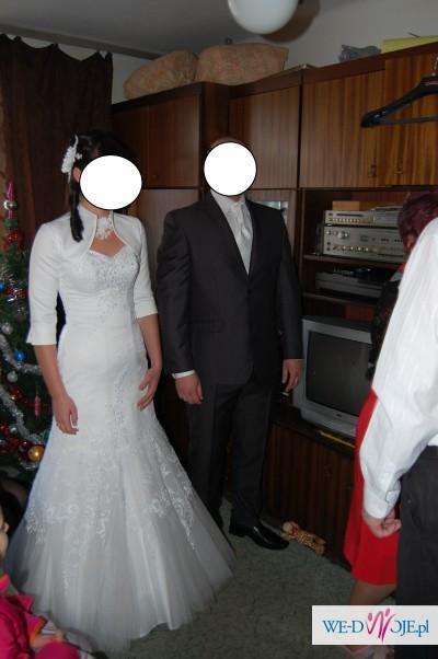 suknia ślubna Paryżanka rybka 38