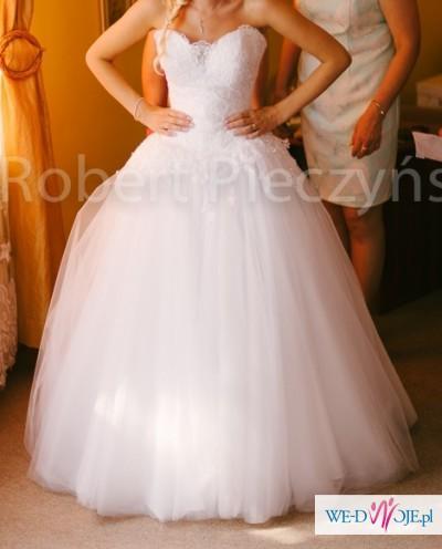 fecc95f952 Suknia Ślubna Princessa r.34-36 - Suknie ślubne - Zdjęcie 1 ...