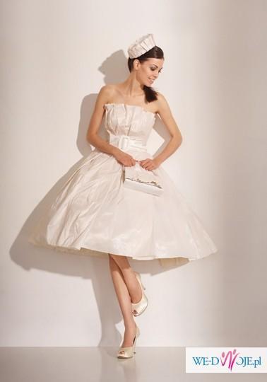 Suknia ślubna Retro Lata50 Biancaneve 910 Gratisy Suknie ślubne