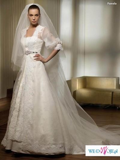 Suknia ślubna San Patrick model POMELO