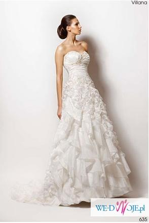 Suknia Ślubna Sposabella model 635 Vilana ecru WARTO
