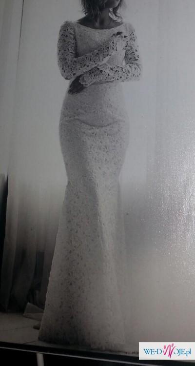7bd3256cd1 Suknia ślubna szyta na wzór Berty 2014 - rybka