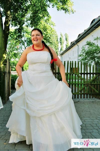 Suknia ślubna Toruń Anna Skrzeszowska, rozmiar 44