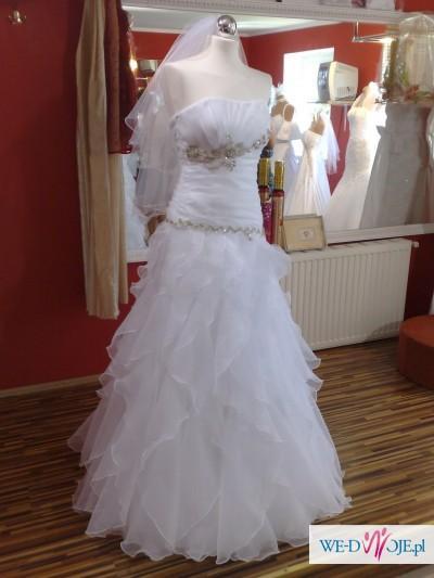 aac7cb01fa Suknia Ślubna z kryształkami Swarovskiego. Suknia Ślubna z kryształkami  Swarovskiego - zdjęcie 1