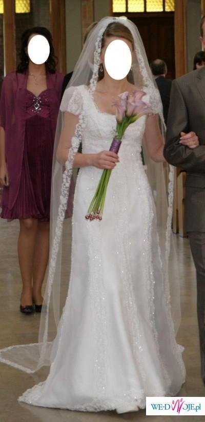 e7c5643b82 suknia ślubna z małym trenem - Baslamo - ST. PATRICK - Toruń ...