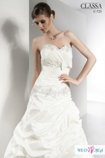 suknia, sukienka ślubna 38-40, CLASSA + gratisy