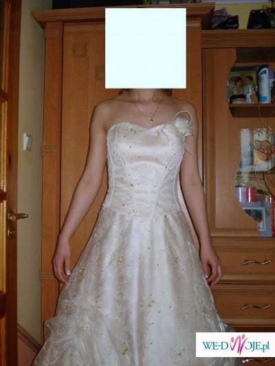0a499498d8 Suknia wieczorowa ecuri - Suknie wieczorowe - Zdjęcie 1 - Ogłoszenie ...