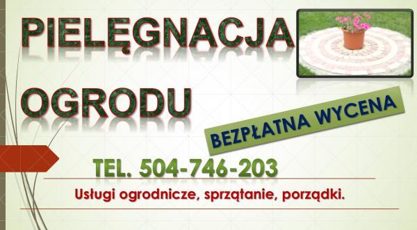 Utrzymanie ogrodów Wrocław, cennik, tel 504-746-203, pielęgnacja ogrodu