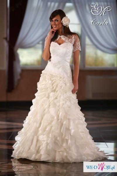 cb021f8e6e używana suknia ślubna Emmi Mariage model Carla - Suknie ślubne ...