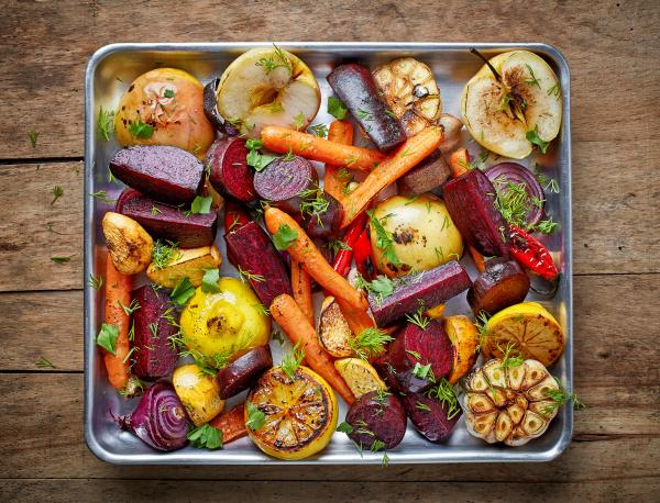 Warzywa pieczone na blasze