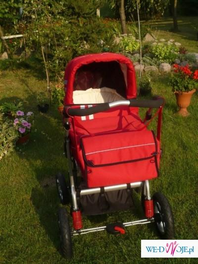 wózek wielofunkcyjny Implast 4xl driver czerwony
