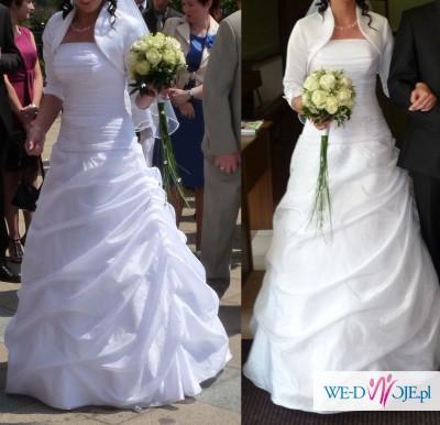 06c09f21d7 wyjątkowa suknia ślubna - Suknie ślubne - Zdjęcie 1 - Ogłoszenie ...