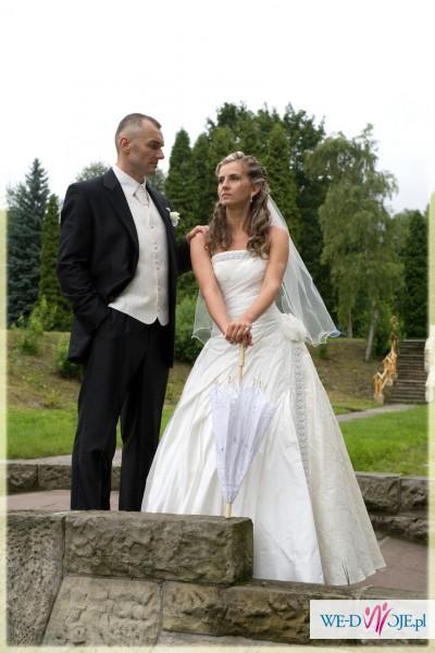 * Wyjątkowa Suknia Ślubna Mateja r. 38  OKAZJA ! KATOWICE
