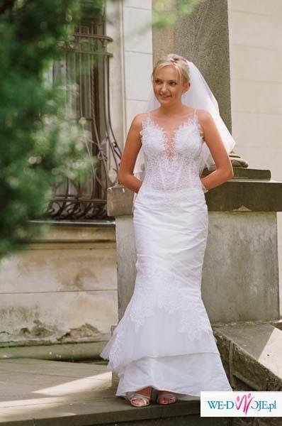 wyjątkowa suknia ślubna, POLECAM!