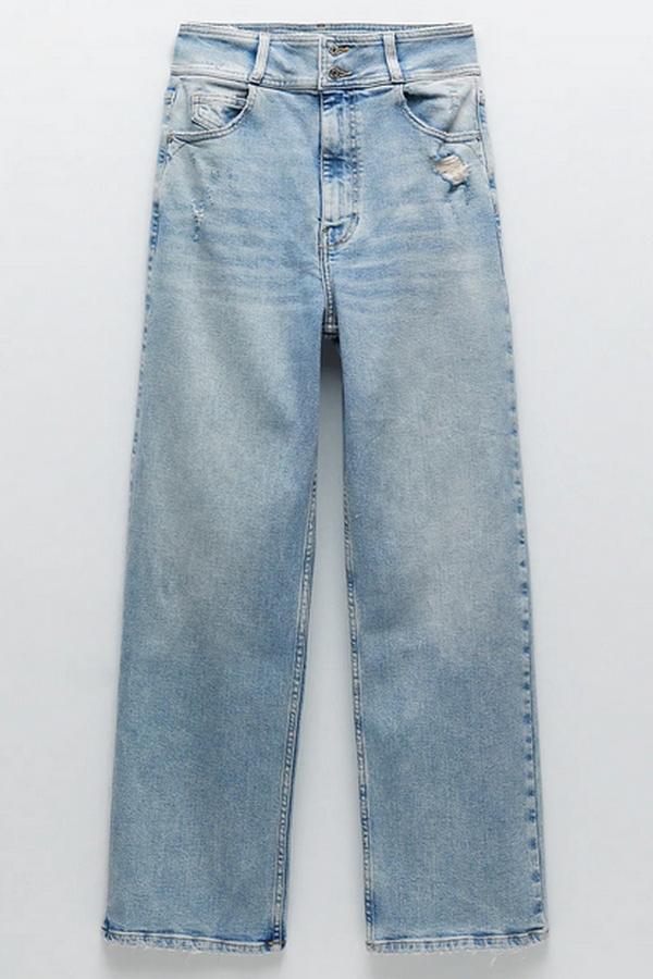 Zara dopasowane dżinsy