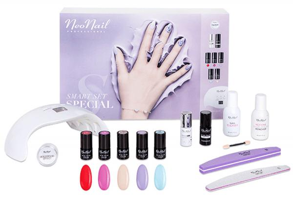 zestaw do manicure hybrydowego na prezent dla żony