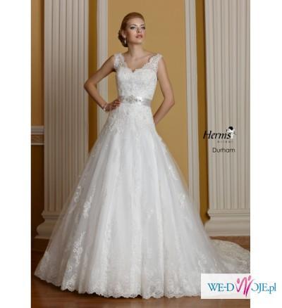 Zjawiskowa Suknia ślubna Herms Bridal Durham Poczuj Się Piękna