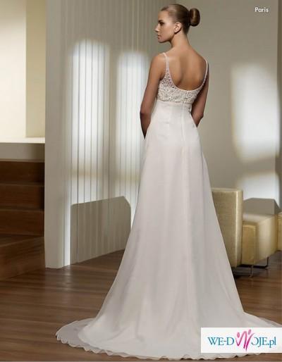 Zwiewna I Delikatna Suknia ślubna Stpatrick Model Paris Suknie