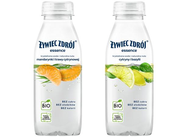 żywiec zdrój w butelkach z recyklingu