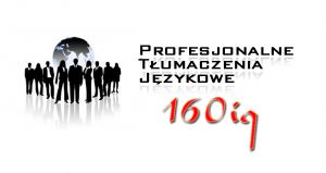 160 IQ Profesjonalne Tłumaczenia Językowe
