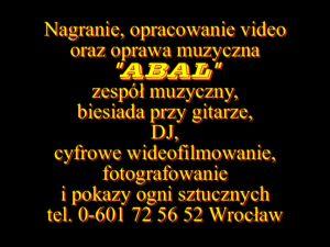 Abal wideofilmowanie