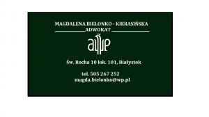 Adwokat Magdalena Bielonko - Kierasińska