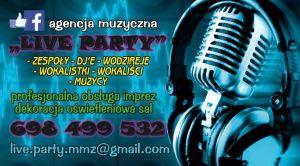 agencja muzyczna LIVE PARTY