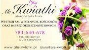 Ale-Kwiatki wystrój sal weselnych, kościołów i uroczystości
