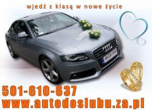 Audi A4 do Ślubu >Wjedź z klasą w nowe życie